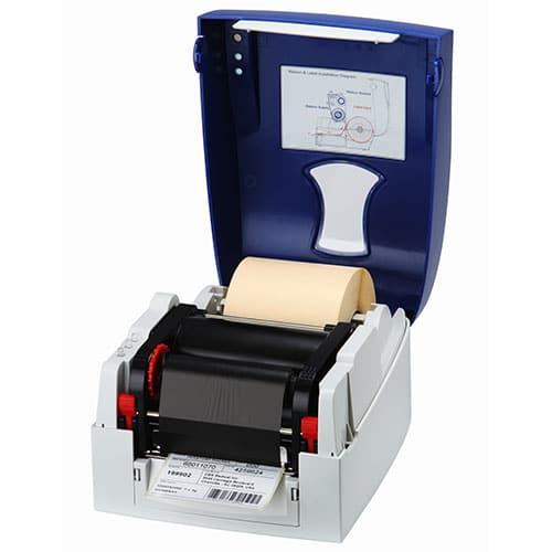Micra Etikettendrucker offen