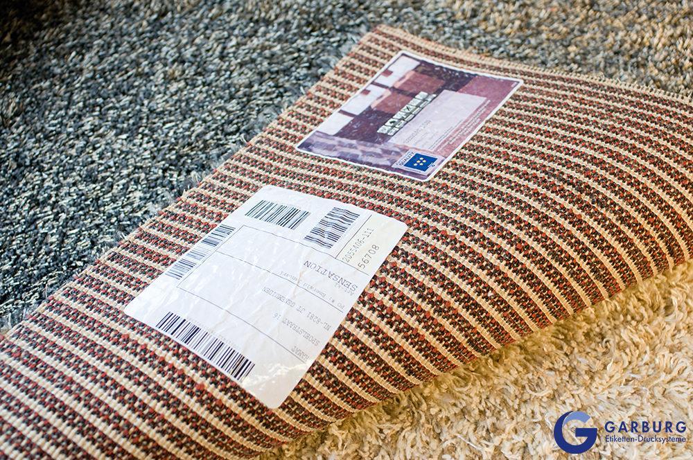 Carpet labels
