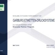 NL CertificateReseller Garburg Etiketten Drucksysteme GmbH