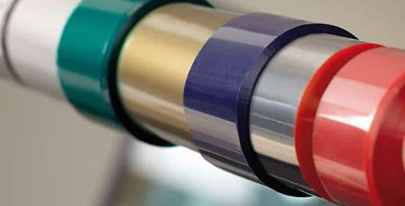 thermotransferfolien farbig