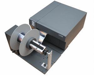 farbetikettendrucker LX 900e aufwickler 2