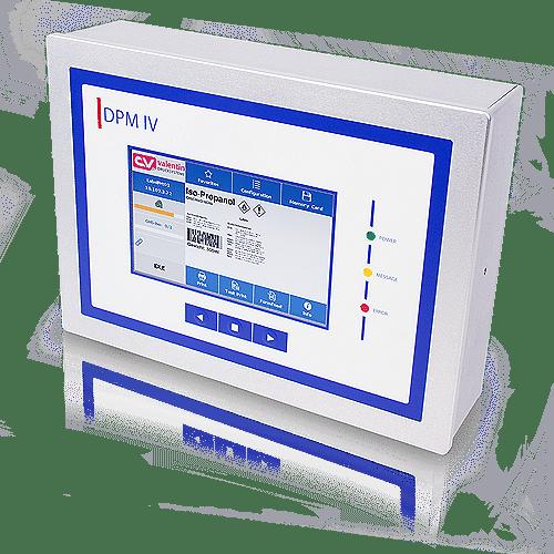 Ansteuerelektronik DPM IV als Panelgehäuse als Touchscreen
