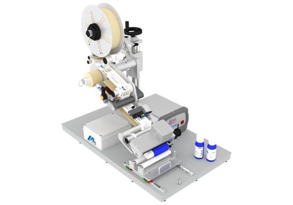Garburg Almatic C Etikettiermaschine für Rundum Etikettierung